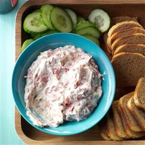 Paddy's Reuben Dip Recipe -This slow-cooked spread tastes just like the popular Reuben sandwich. Even when I double the recipe, I end up with an empty dish. —Mary Jane Kimmes, Hastings, Minnesota