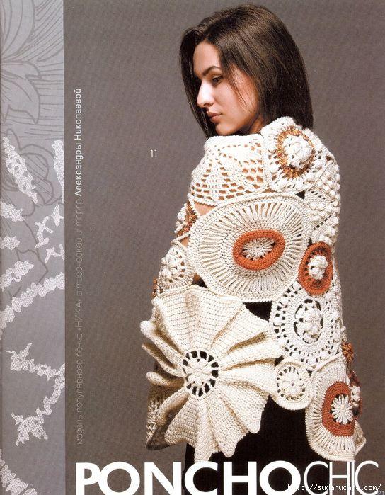 """""""Fashion Magazine - Schal."""" Journal of Strick .. Diskussion über Liveinternet - Russisch Service Online-Tagebücher"""