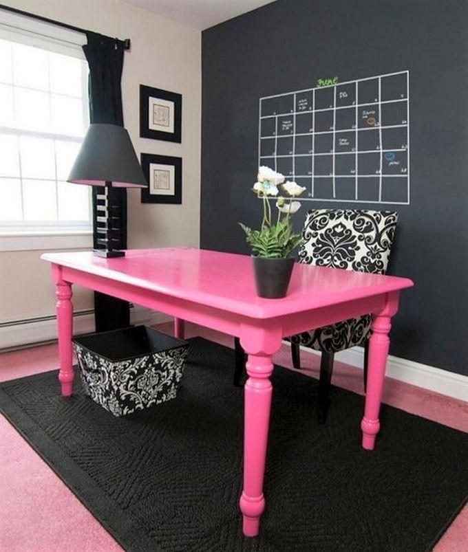 Elegant Office Decorating Ideas: 17 Best Ideas About Pink Desk On Pinterest