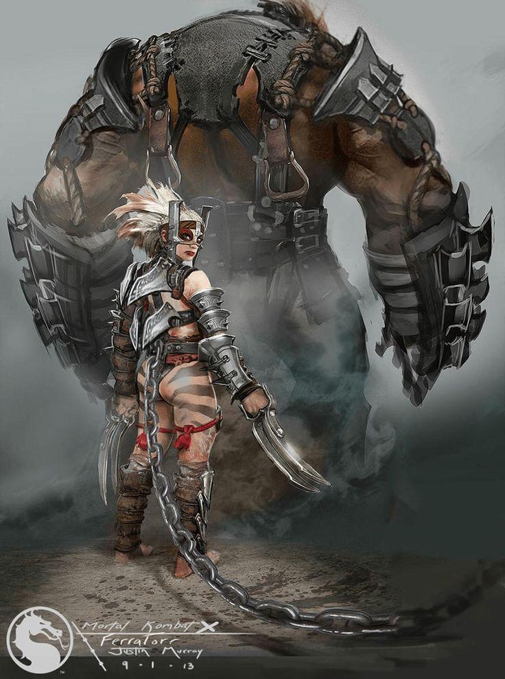 Ferra & Torr Concept from Mortal Kombat X