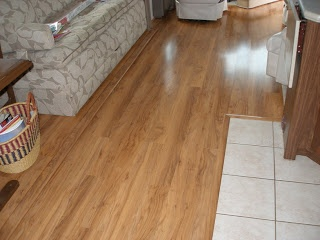 Remodeling Your RVs interior: Installing laminate flooring in an RV