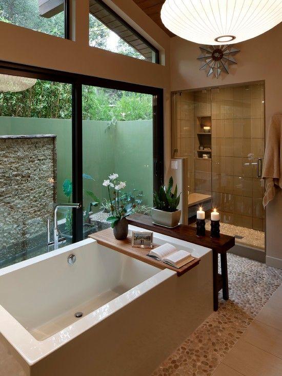 #OrangeCountyNewHomes modern bathroom design