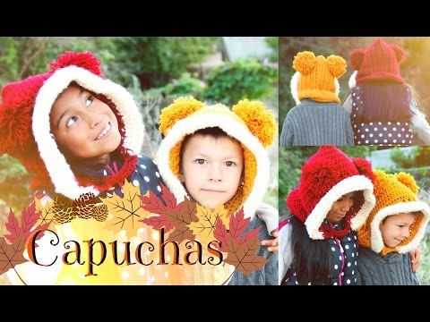 Capucha TUTORIAL FACIL | Tejiendo Con Erica♡ - YouTube