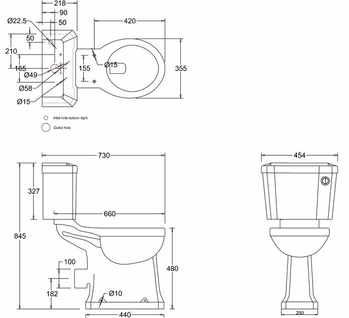 Toilet Diagram Uk