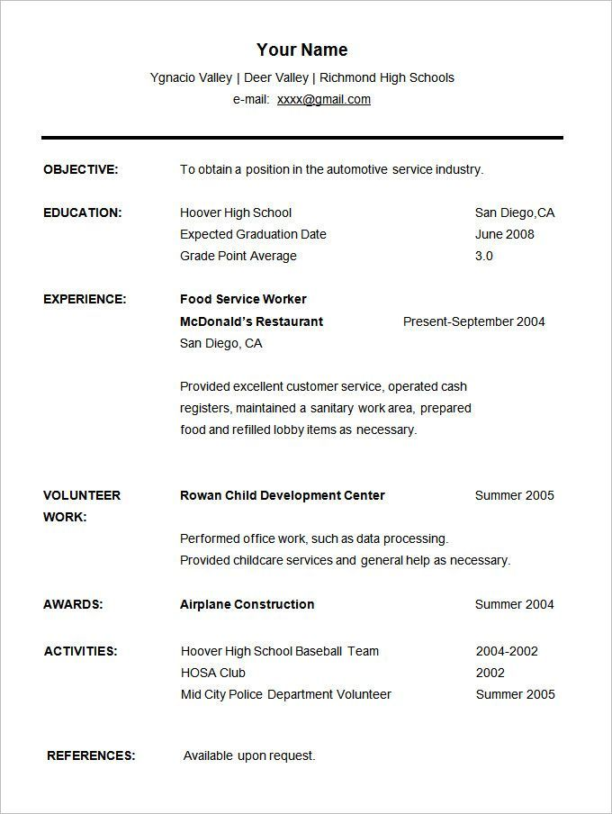 Pin On Resume Template Sales