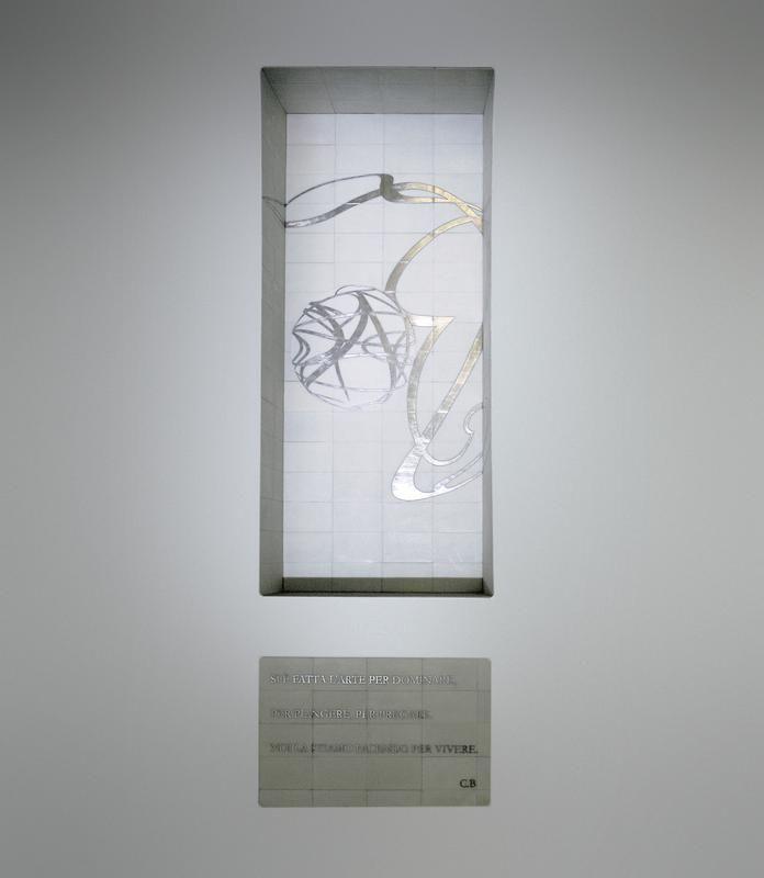 Untitled by Domenico Bianchi, 2005 ph. © Amedeo Benestante