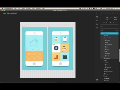 Photoshop Open Source HTML5 Interface