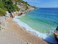 Ukryta plaża w Zivogosce