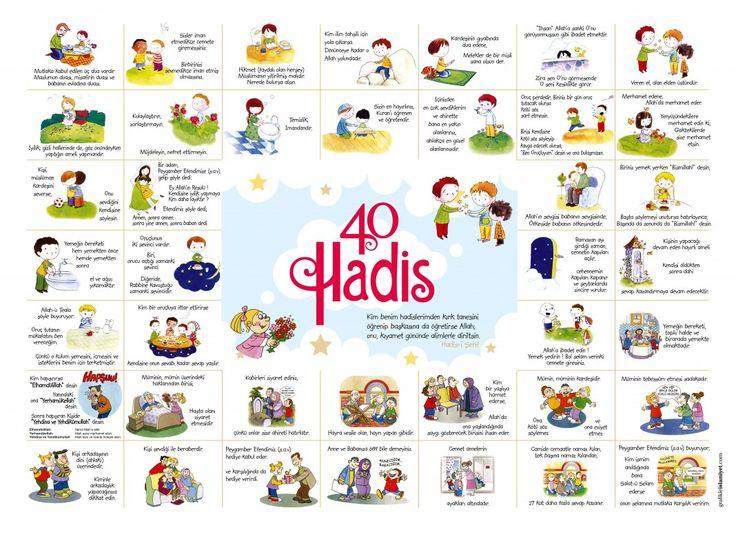 Çocuklar İçin 40 Hadis