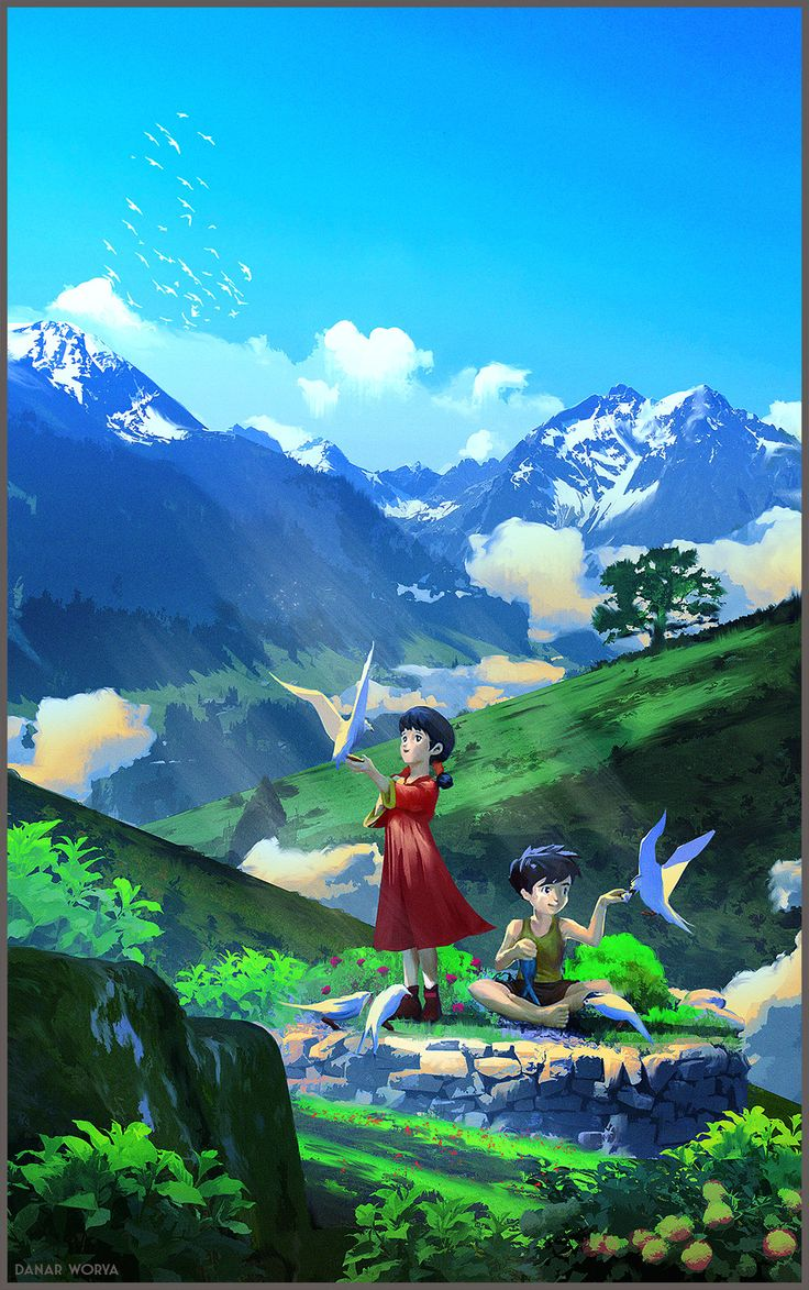 Future Boy Conan , Danar Worya on ArtStation at https://www.artstation.com/artwork/future-boy-conan