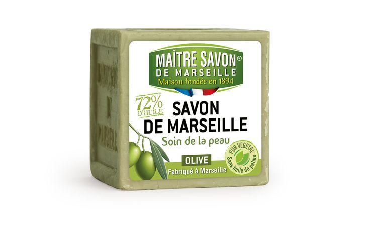 Savon de Marseille 200g Olive Maître Savon de Marseille