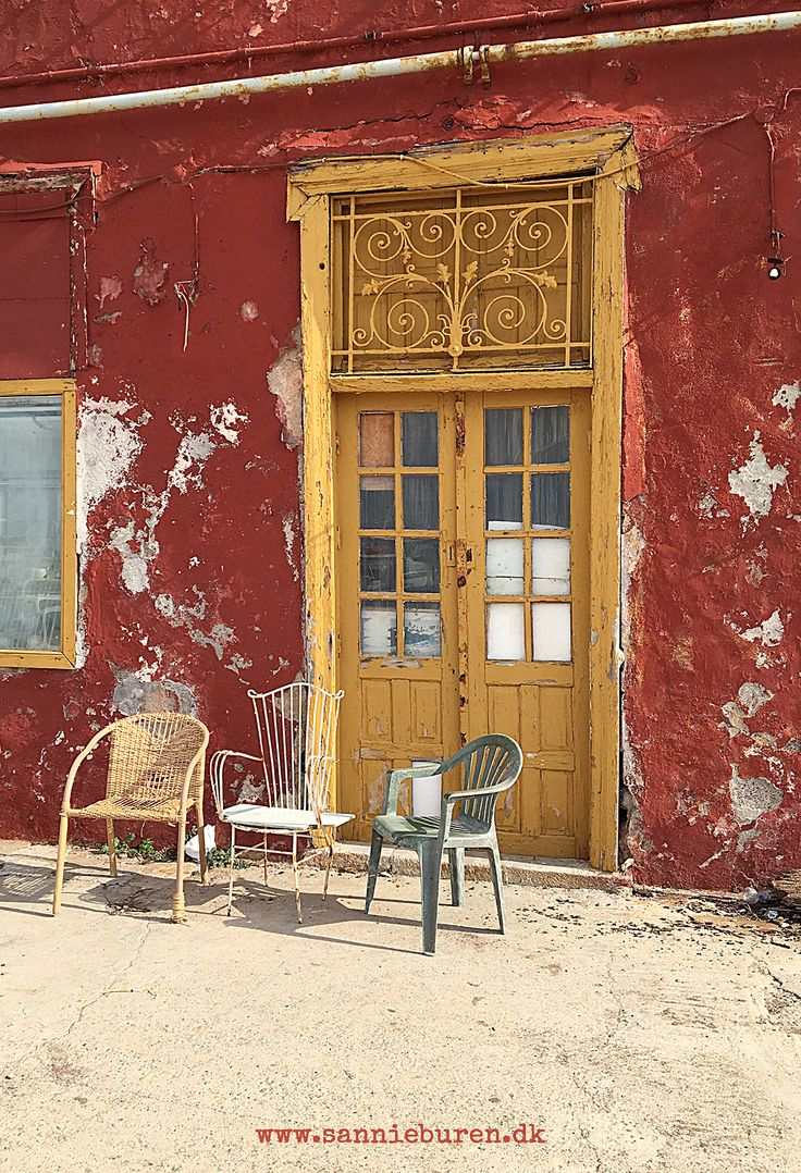 Impressions from Hydra, Greece, September 2016 © Sannie Terese Burén #Kallini #The Old Red #Chairs #Decay