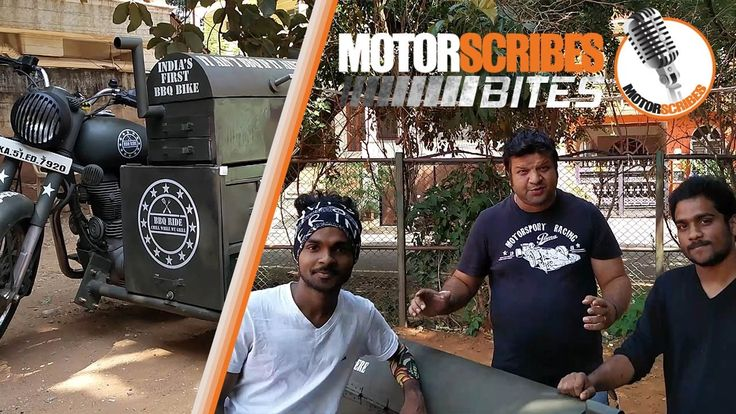 CoolWow Royal Enfield Bullet Modified with BBQ Side Car | MotorScribes Video Check more at https://epicchickenrecipes.com/bbq-chicken/royal-enfield-bullet-modified-with-bbq-side-car-motorscribes-video/