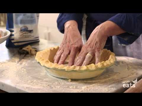 How to Make Pumpkin Pie Crust From Scratch - YouTube