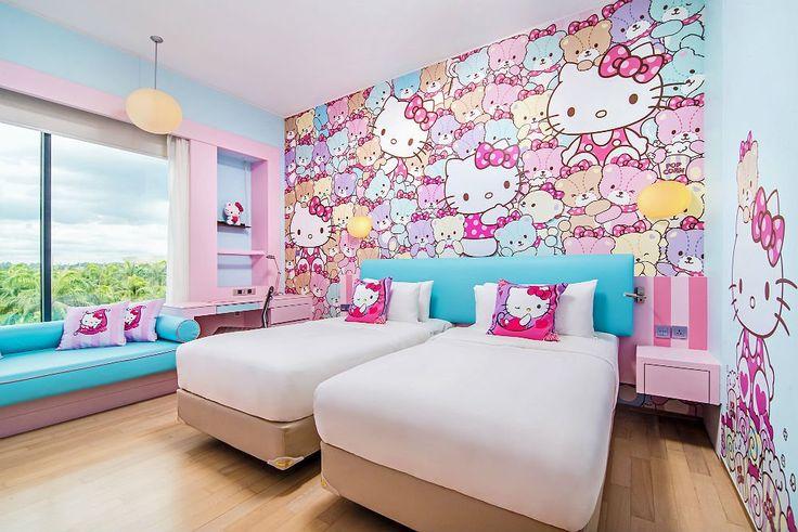 Hotel na Malásia lança quartos temáticos da Hello Kitty