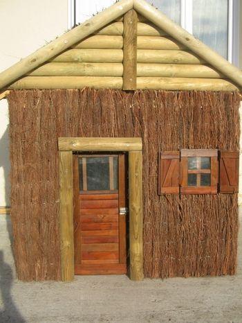 Construction d\u0027une maisonnette à ossature bois et brande de bruyères - Plan De Construction D Une Maison