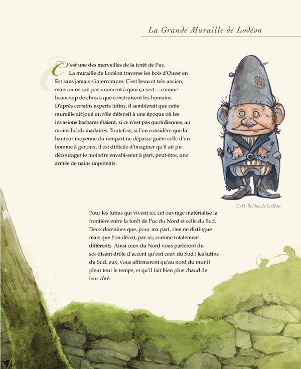 Le guide du lutin voyageur by Raphael Grosjean, via Behance