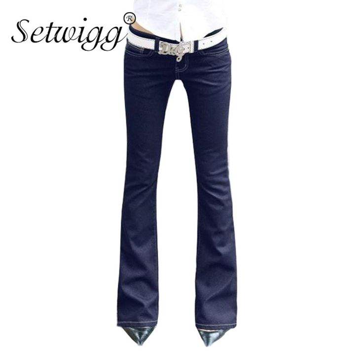 Simple ways to keep your sanity while you Discount 18% Sale Price US $21.31 SETWIGG Womens Blue Denim Stretch Flare Jeans Low Waisted Bell Skinny Spandex Jean Trousers Woman Denim Pants For Slim Hip Women #jeans_sexy
