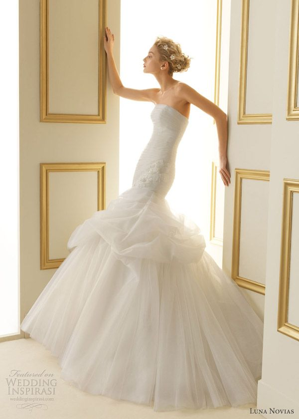 luna novias wedding dresses 2013