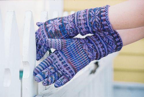 fair-isle gloves
