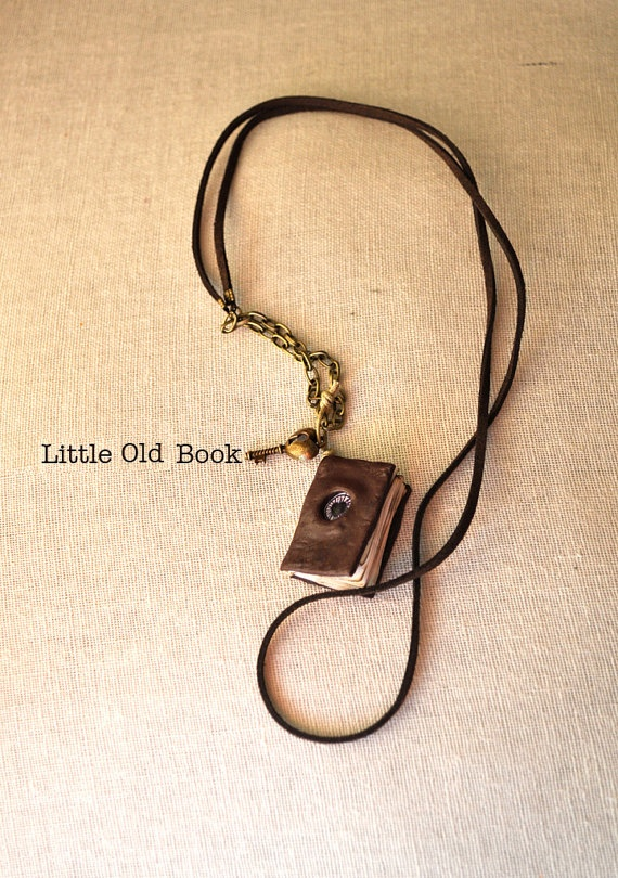 Little Old Book by PolyClayUtopia on Etsy