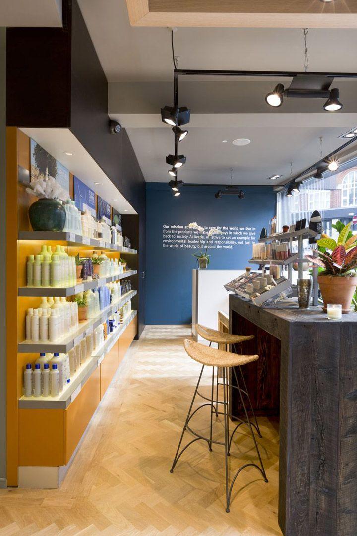 CurlsUnderstood.com: Aveda Lifestyle Salon Spa by Reis Design, London » Retail Design Blog