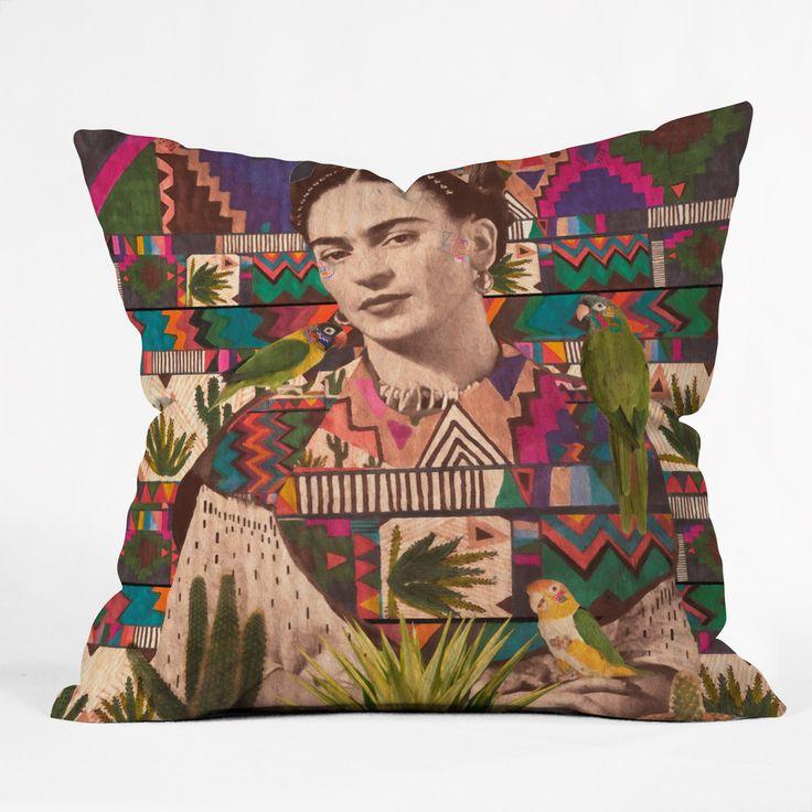 Kris Tate Viva La Vida Throw Pillow | DENY Designs Home Accessories