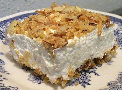 My favorite Coconut Cream Pie, Low Carb - With liquid Splenda, 3g net carbs per serving