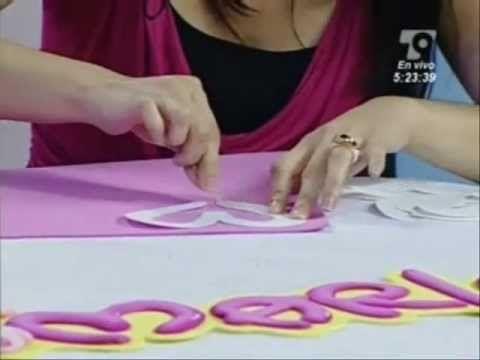 Letras en Fomi (Diana Stevan Parte 2) - YouTube                                                                                                                                                                                 Más