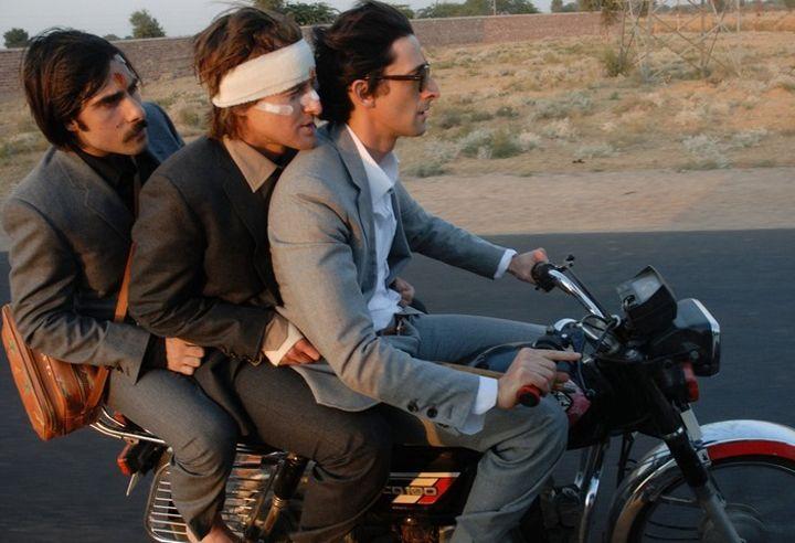 Jason Schwartzman, Owen Wilson & Adrien Brody - The Darjeeling Limited