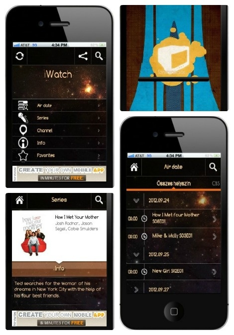 iWatch app: Finally, it's September, our beloved series are back! Don't miss your favorites' next season! Follow them via iWatch, and you just need to be in front of TV right on time.