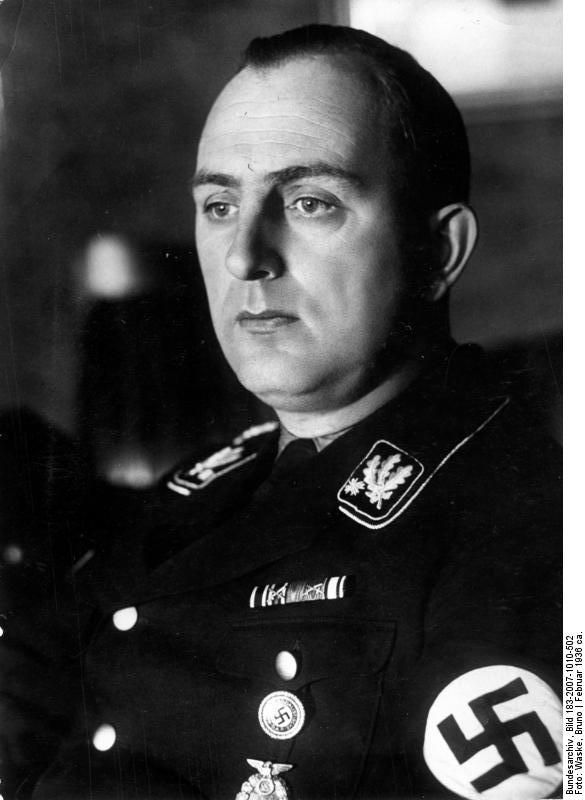 Kurt Daluege. Daluege and Frank were instrumental in initiating the destruction of the Czech villages of Lidice and Ležáky in order to take revenge on the Czech populace for Heydrich's death.