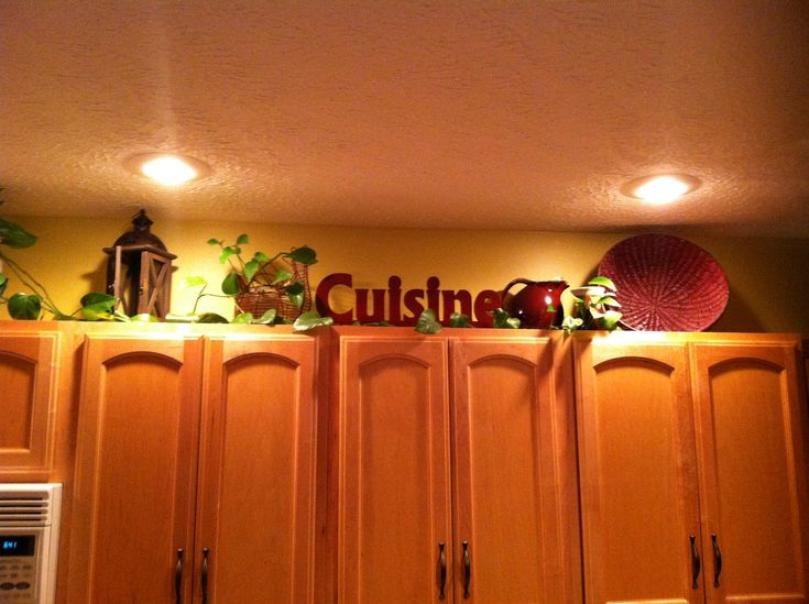 The 25+ Best Above Cabinet Decor Ideas On Pinterest | Above Kitchen Cabinets,  Decorating Above Kitchen Cabinets And Kitchen Curtains