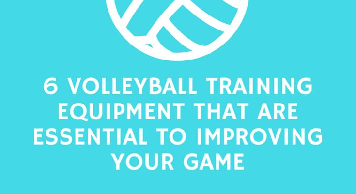 Volleyball Training Equipment That Are Essential To Improving Your Game