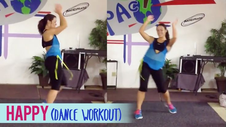 Pharrell Williams - Happy (Dance Workout) | Dance Fitness with Jessica - YouTube