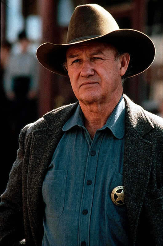 Unforgiven (1992) - Gene HackmanBecause of his passing today I start this Board with Gene Hackman.  He didn't disappear into a role, he made the role great.