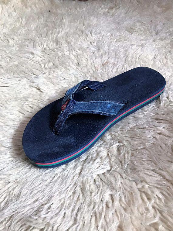 70 S 80 S Vintage Men S Flip Flop Sandals 11 Unworn