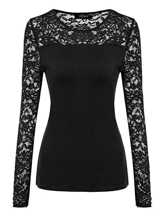 Damen Bluse Shirt Langarmshirt