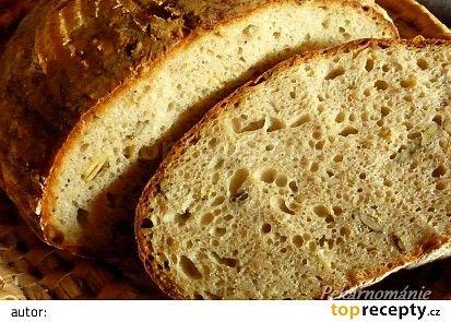 Kváskový chléb se semínky a syrovátkou recept - TopRecepty.cz