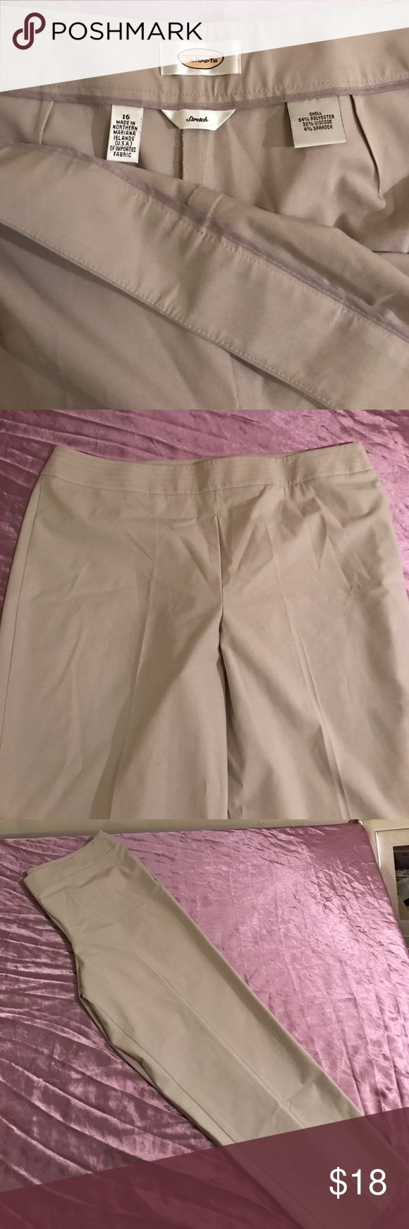 Talbots Plus Size pants Talbots Plus Size pants inseam 29 inches Talbots Pants