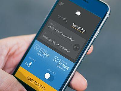 Ticket Sales app by Emrah Demirag