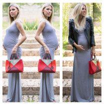 nati vozza estilo gravidez