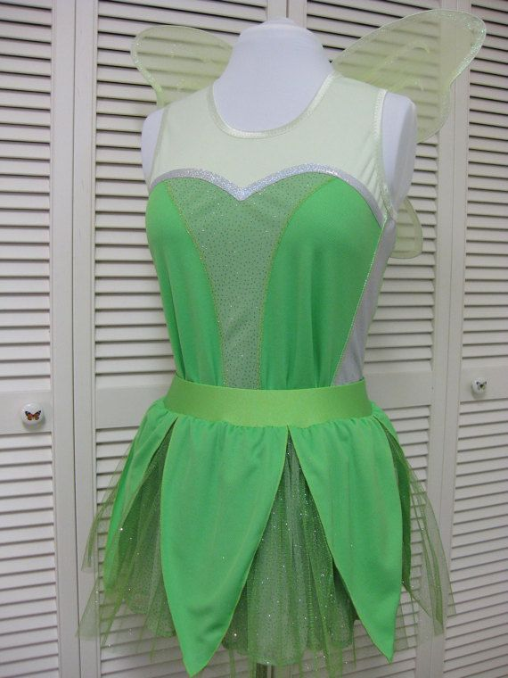 Tinkerbell Running Costume-Limited by Needlemaiden on Etsy