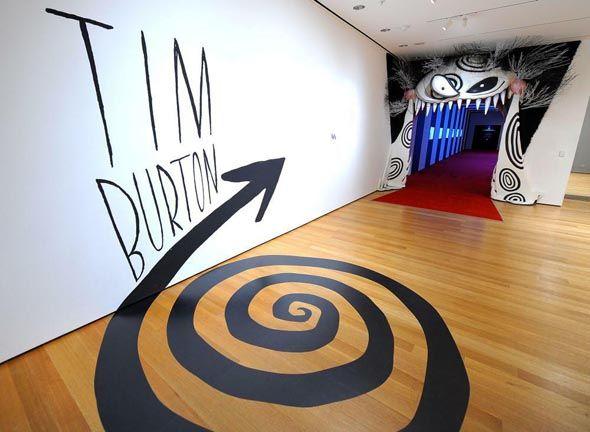 Tim Burton Exhibition in MoMa