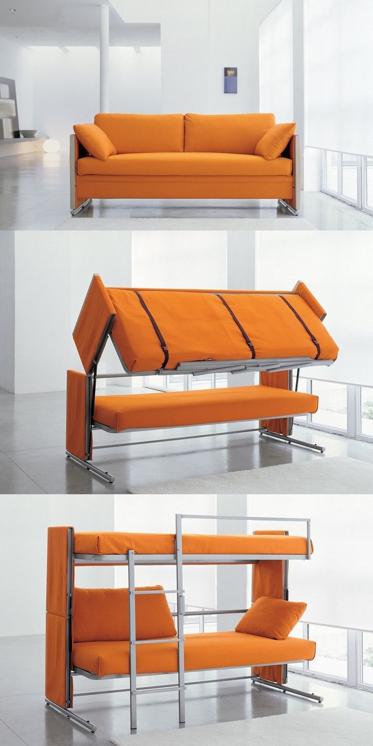 Pop Up Sofa Bunk Bed