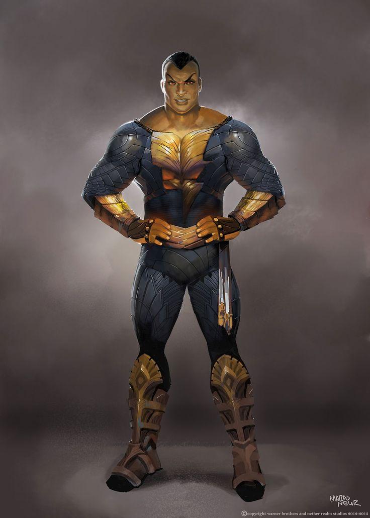 Black Adam Injustice 2013 Captain MarvelDc