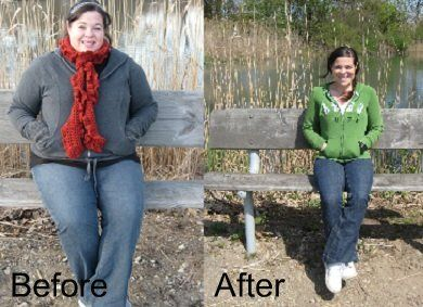 Katie's weight-loss transformation is amazing and inspirational! Read how she lost 115 pounds! | via @SparkPeople #diet #fitness #success #motivation