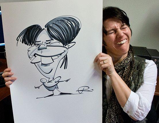 karikatuur-atelier Ronald Kronenburg