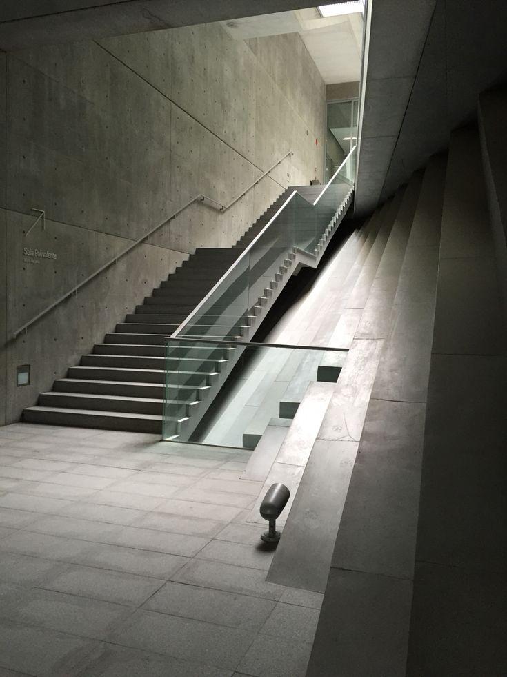Udem - Monterrey, Mx. Tadao Ando #architecture #stairs #design