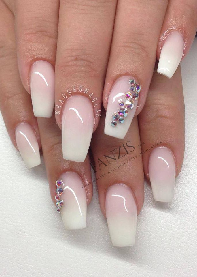Tammy Taylor Powder | Ombre nails, Ombre nails glitter